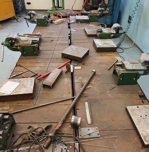 B009 – delavnica za izdelovalce kovinskih konstrukcij