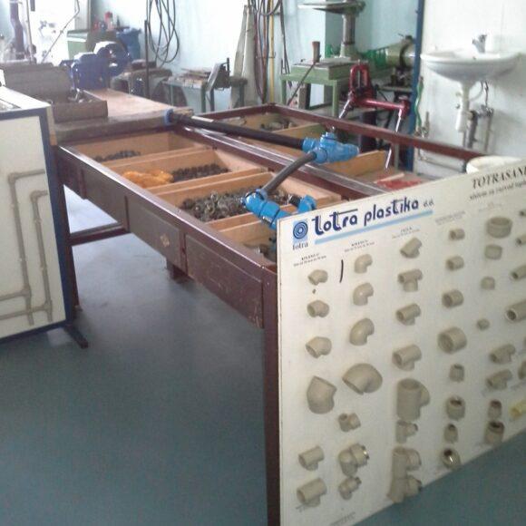B107 – delavnica strojnih inštalacij