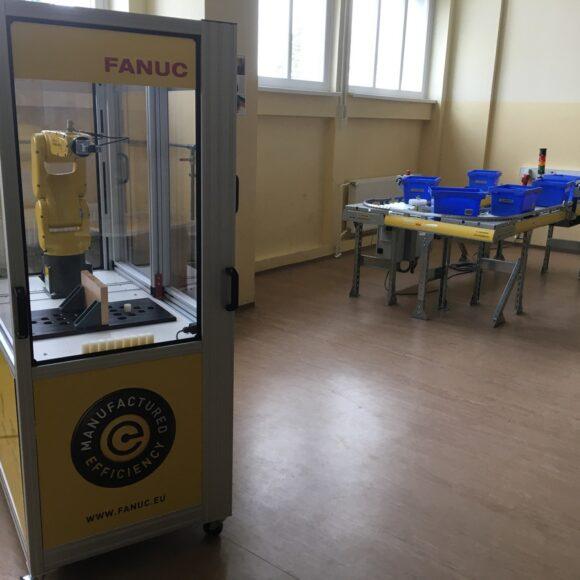 B112 – učilnica za avtomatizacijo in robotiko